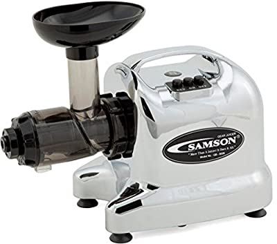 Samson Advanced Wheatgrass Juicer - Chrome GB 9006