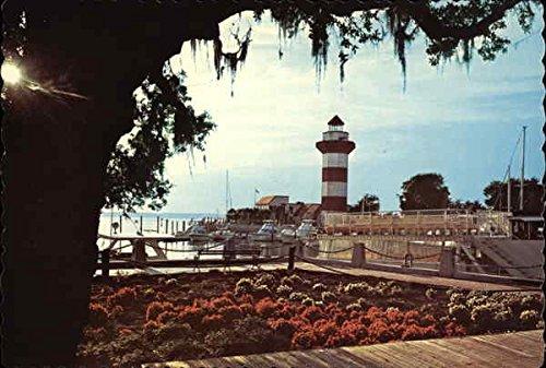 Harbour-Town-Hilton-Head-Island-South-Carolina-Original-Vintage-Postcard