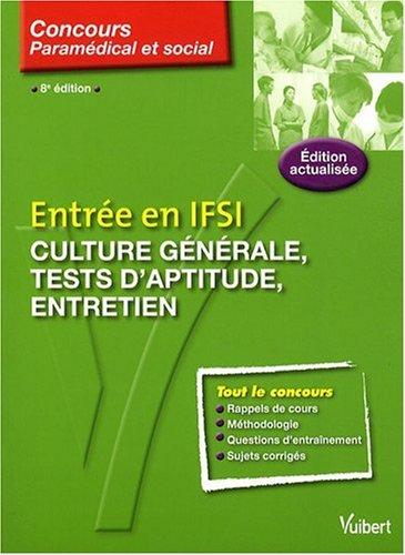 Entrée en IFSI : culture générale, tests psychotechniques, entretien