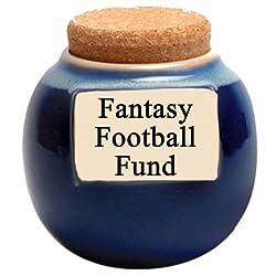 Tumbleweed 'Fantasy Football Fund' Ceramic Money Jar