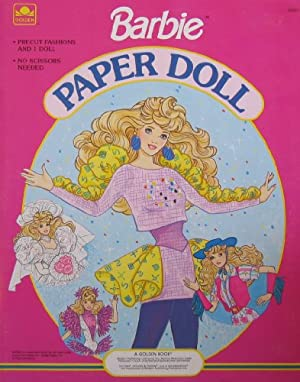 Barbie Paper Doll Book w Wedding, Skating, Western & More Fun Fashions! (1990) at Sears.com