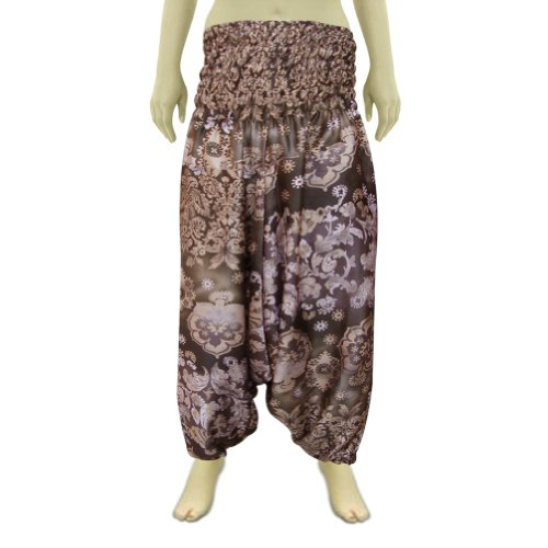 Aladdin Unisex Afghani Pant In Satin Fabric With Bobin Style Waist (Free Shipping) Afpt0035