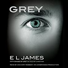 Grey: Fifty Shades of Grey as Told by Christian (       UNABRIDGED) by E. L. James Narrated by Zachary Webber