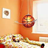 LightInTheBox Basketball Featured Chandelier in Warm Light