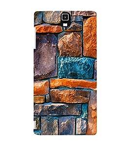 EPICCASE Brick Art Design Mobile Back Case Cover For Infocus M330 (Designer Case)
