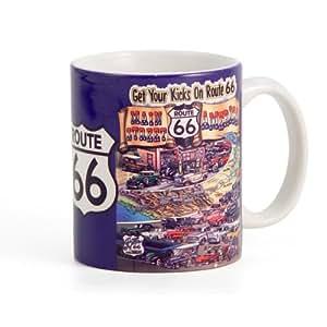 Rt 66 Get Your Kicks Coffee Mug