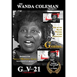 GRAFFITI VERITE' 21 (GV21) THE WANDA COLEMAN PROJECT: Genius. (period)