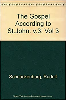 the gospel according to st john Buy the gospel according to st john: black's new testament commentaries by andrew t lincoln (isbn: 9780826471390) from amazon's book store everyday low prices and free delivery on eligible.