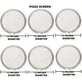 FOR COMMERCIAL USE OF HOTELS AND RESTAURANTS 12 Inches Aluminium Pizza Screen- Set Of 6 Pieces