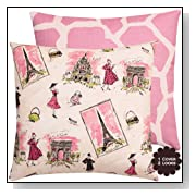 From Paris with Love Collection Throw Pillow