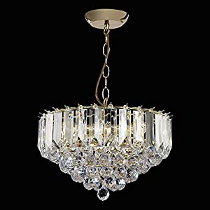 3 Light Crystal Chandelier       Customer reviews and more information