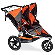 BOB Revolution Pro Duallie Stroller Orange