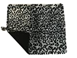 Cat Bed - Purrfect Thermal Cat Mat Leapord Prints (Gray Leopard)