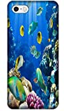 Top Quality Phone Accessories Under Sea World Beautiful Colorful Fishs Clean Water Special Design Cell Phone Cases Covers For iPhone 4/4S