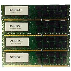 32Gb (4X8Gb) Ram Memory 4 Hp/Compaq Proliant Ml350P Gen8 (G8) Server Only By CMS B103