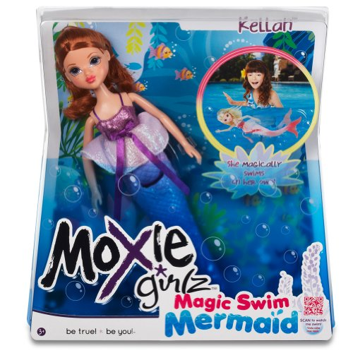 moxie girlz magic	swim mermaid doll