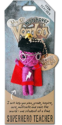 Watchover Voodoo Superhero Teacher Novelty
