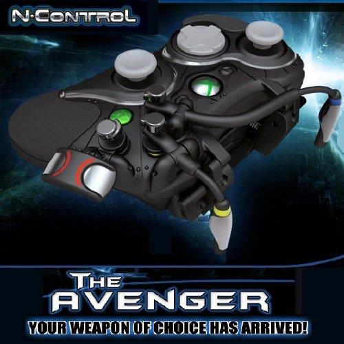 Xbox360 N-Control Avenger Controller /FPSファン必見!!装着するとゲーム操作がラクラクになる!?