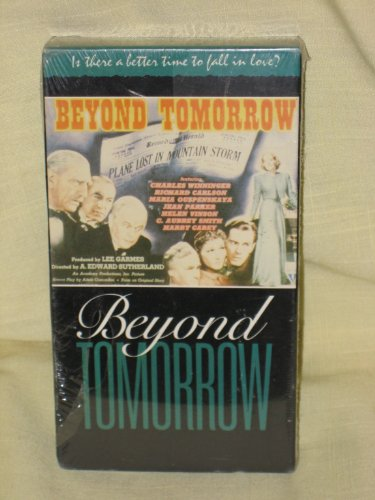 Beyond Tomorrow - Starring Richard Carlson, Jean Parker, Harry Carey, C. Aubrey Smith - VHS