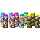 Little Kids 99621 Nickelodeon Squeeze and Blow Pop-Up Bubbles Novelty (10-Piece) Party Pack