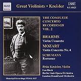 Fritz Kreisler - Complete Concerto Recordings, Volume 2