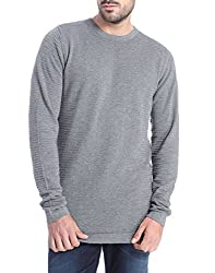 Jack & Jones Men's Cotton  Sweater (5712834660507_Grey_Small)