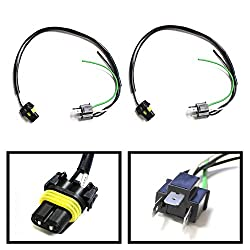 See iJDMTOY (2) 9006-To-H4 Conversion Wires Adapters/Power Cords For Headlight Retrofit or HID Conversion Kit Installation Details