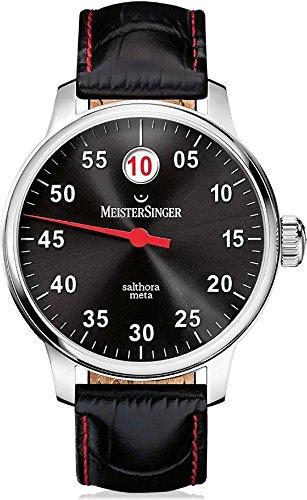 MeisterSinger reloj hombres automática Salthora Meta SAM907