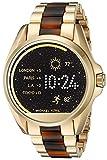 Michael Kors accès à l'écran tactile d'or acétate Bradshaw Smartwatch MKT5003