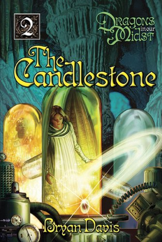 Cover of The Candlestone (Dragons in Our Midst, Book 2)