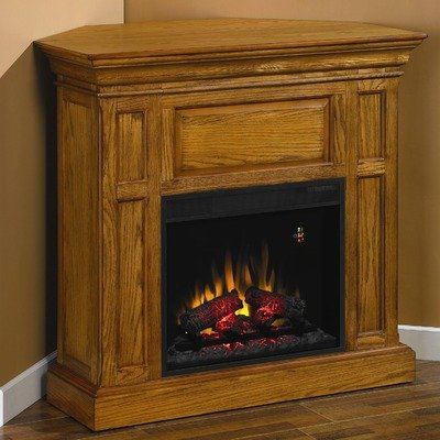 Advantage Metropolis Fireplace in Antique Oak with 23EF025GRA Electric Insert image B006JOQC08.jpg