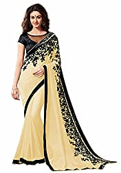 SALE ATV LOWER PRICE BABY YELLOW SAREE WITH BEST MATERIAL OF 60 GRAM CHIFFON AT LOW RATE