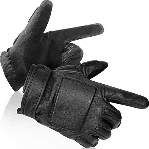 """Security Lederfingerhandschuhe mit Protektoren und Kevlar®-Einlage """"Lawbringer"""""""