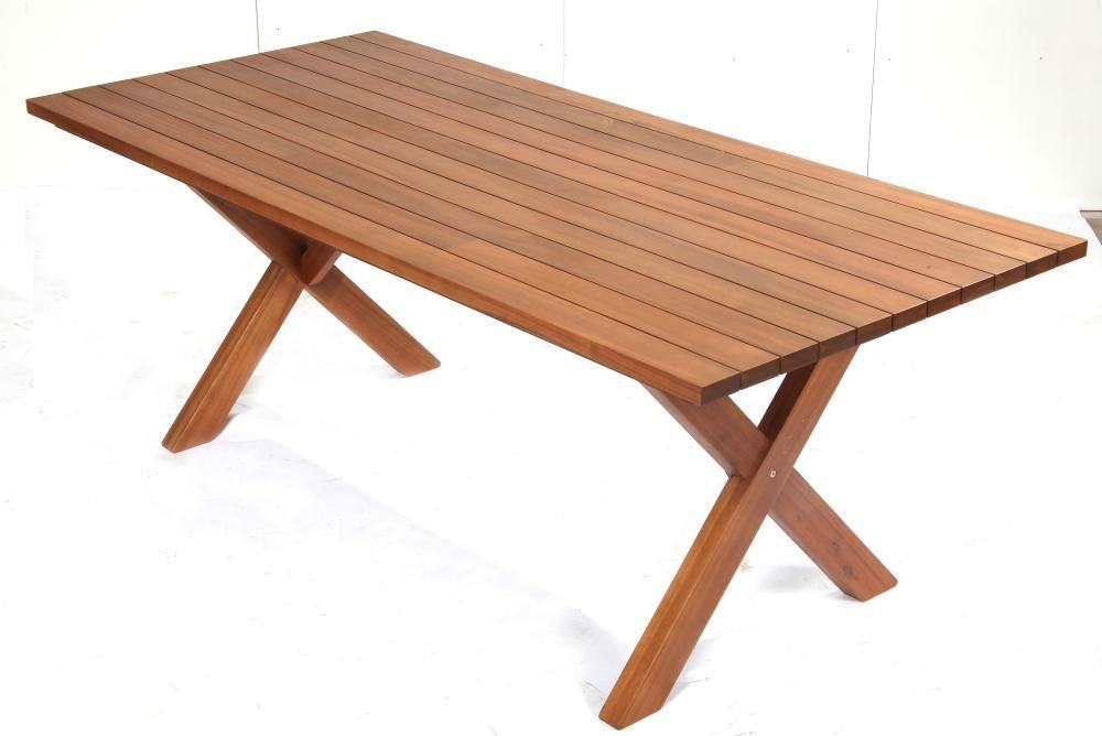 TrendLine Tisch Hanoi 200 x 90 cm Akazienholz online kaufen