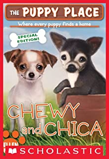 Book Cover: The Puppy Place Special Edition: Chewy and Chica