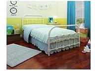 Rack Furniture Lindsay Twin Bed, White