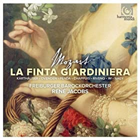 La finta giardiniera: Act I, Scena sesta Recitativo Podest�, Arminda, Serpetta: Mia cara nipotina