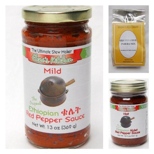 Eleni's Ethiopian Gluten Free Sampler Pack -