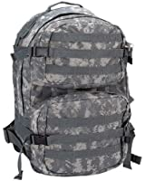 Water Resistant Digital Camo Army Backpack Multiple Zippered Pockets