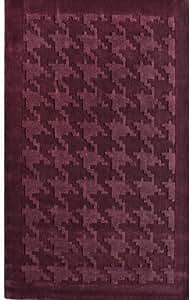 "NEW Wool Hand-Tufted Carpet Area Rug 7' 6"" x 9' 6"" Plum"