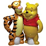 Westland Giftware Life According to Eeyore Pooh and Tigger 4-Inch Magnetic Salt and Pepper Shakers