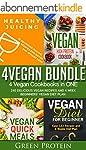 Vegan: 4Vegan Bundle: 4 Vegan Cookboo...