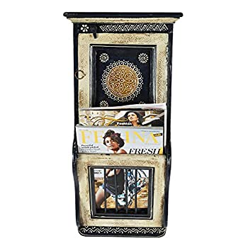 Lalhaveli Wooden Cabinet Key Holder & Key Hook Holder for Room Decor 23 X 11 X 5 Inches