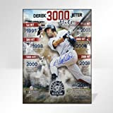 Derek Jeter Road to 3000 Signed Vertical Collage