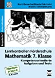 img - for Lernkontrollen F rderschule Mathematik 7. Klasse book / textbook / text book