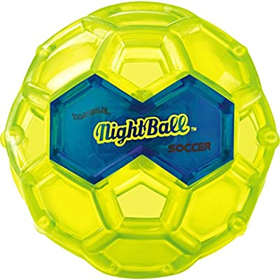 Tangle NightBall Glow in the Dark Light Up LED Soccer Ball- Small