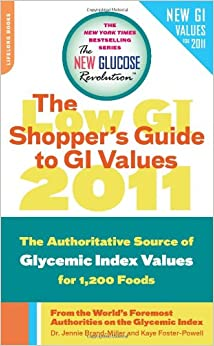Glycemic Index Book Lists Foods