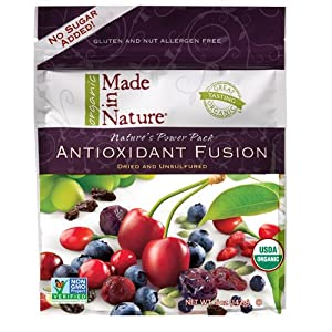 Made in Nature Organic Antioxidant Fusion Fruit Blend-4 Bag