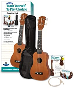 Alfred's Teach Yourself to Play Ukulele, Complete Starter Pack by Alfred Music Publishing Co. Inc