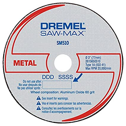 DSM510 3 Inch Metal Cut Off Wheel Set (3 Pack)